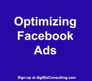 optmizing faceboook ads