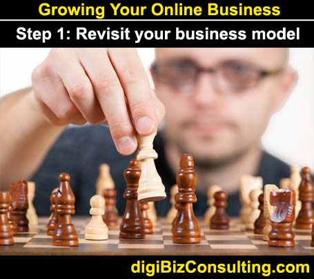 digital business model - grow online business