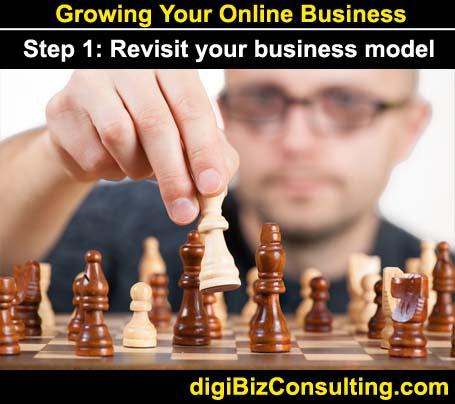 digital business model - grow online business