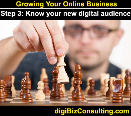 digital audience - grow online business